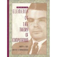 【预订】Elements of the Theory of Computation