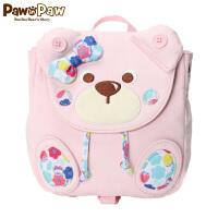【3件2折 到手价:80】Pawinpaw小熊童装新款男女宝宝双肩背包婴幼儿防走失书包可爱
