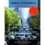 【预订】Public Economics: Selected Papers by William