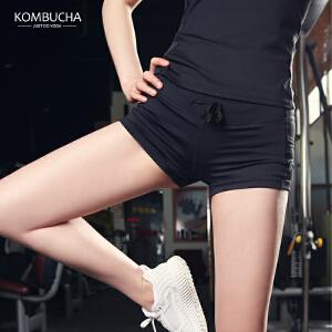 【限时特惠】KOMBUCHA瑜伽短裤2018新款女士防走光健身跑步运动速干透气热裤K0081