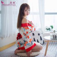情趣内衣女式制服角色扮演印花日系俏皮可爱性感和服套装