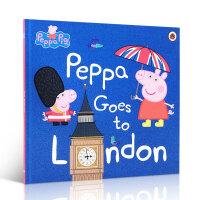 英文原版 Peppa Pig Peppa goes to London 粉红猪小妹去伦敦 小猪佩奇 3-5岁儿童 平装