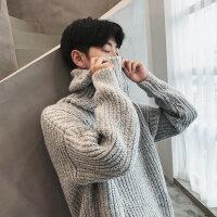 秋冬季高领毛衣男韩版潮流保暖加厚宽松针织衫男士毛线衫长袖线衣新款