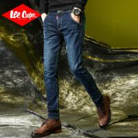 Lee Cooper时尚热款 潮流前线秋冬新品直筒棉质舒适男式牛仔裤