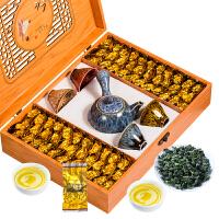 安溪铁观音茶叶礼盒装特级浓香型500g兰花香年货*乌龙茶新茶