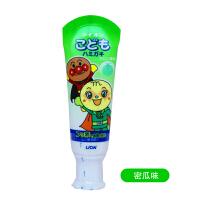 狮王(lion)牙膏面包超人儿童牙膏 哈密瓜味 40g