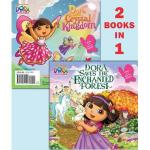 【预订】Dora Saves the Enchanted Forest/Dora Saves Crystal