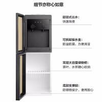 美的(Midea)饮水机立式家用办公双开门柜式饮水器 YD1518S-X冷热型