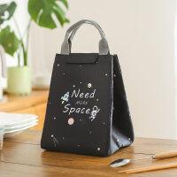 保温加厚装饭盒袋的手提包带饭铝箔饭包包大号盒饭包便当盒布袋子