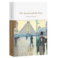 正版全新 The Sound and the Fury 喧哗与骚动(全英文原版,精装珍藏本)