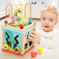 宝宝智力玩具1-2岁绕珠百宝箱玩具婴儿串珠玩具1岁宝宝玩具