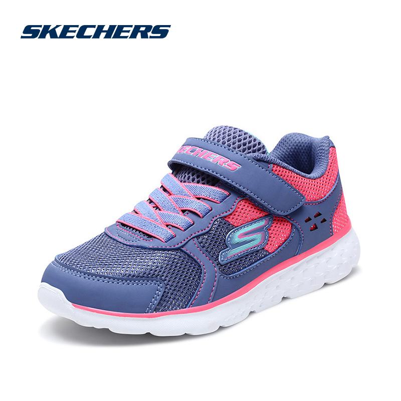 Skehers斯凯奇女大童鞋新款网布防滑减震轻质运动鞋 尺码偏大;请参照内长或询问客服