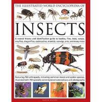 【预订】The Illustrated World Encyclopedia of Insects: A