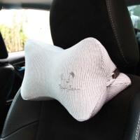 汽车头枕靠枕护颈枕颗粒棉颗粒车用骨头枕单只装