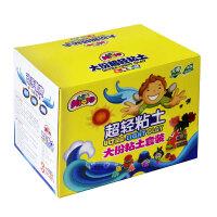 36色超轻粘土3d彩泥橡皮泥套装太空泥儿童玩具