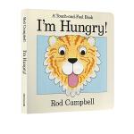 英文原版绘本0 3岁 I'm Hungry 幼儿启蒙认知 Dear Zoo同作者 玩具体操作书翻翻书触摸书 Rod C