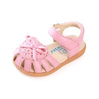 夏季新款潮童女童公主鞋宝宝学步凉鞋儿童包头凉鞋