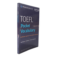 新版 中图原版kaplan TOEFL Pocket Vocabulary