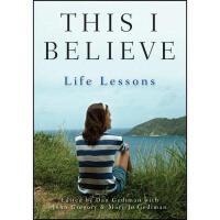 【预订】This I Believe: Life Lessons
