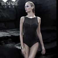 【顺丰急送达】范德安高端性感连体游泳衣女 钢托小胸聚拢显瘦遮肚 大码保守泳装