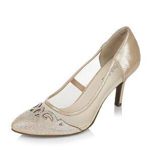Belle/百丽春季专柜同款优雅女人山羊皮女单鞋3V3C2AQ6