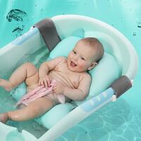可坐躺宝宝浴床 婴儿洗澡网兜通用浴盆浴架浴网