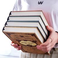 笔记本子记事本大学生欧式魔法本简约厚创意韩国小清新日记本复古
