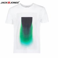 杰克琼斯/JackJones时尚百搭新款T恤 抽象图片-10-3-1-216201501023
