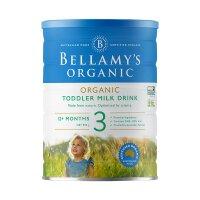 BELLAMY'S 澳大利亚原装进口 贝拉米 奶粉 3段 1岁以上 900g 2罐装 正品保障保税仓发货