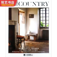 ELLE DECORATION COUNTRY 2019 5 英文版 乡村风格别墅民宿建筑景