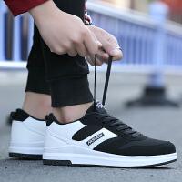 夏季男鞋 透气网面鞋子 厚底增高鞋 时尚韩版板鞋 男士休闲鞋