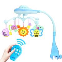 2018053020522婴儿床头铃遥控版满天星音乐旋转投影床铃婴幼儿洗澡玩具
