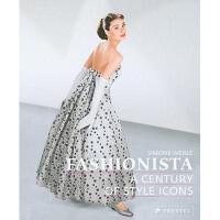 【预订】Fashionista: A Century of Style Icons