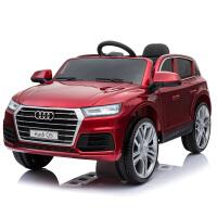 儿童电动车摇控汽车玩具车烤漆双驱摇摆电瓶车奥迪Q5宝宝童车