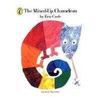 英文原版 The Mixed-up Chameleon 《变色龙》作者:艾瑞卡尔