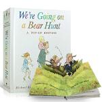 【顺丰包邮】英文原版绘本 儿童3D立体书We're Going on a Bear Hunt: A Celebrato