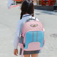 儿童背包女童1-3双肩包护脊韩国书包小学生书包女4-6年级
