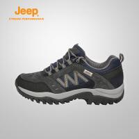 【限时狂欢价】Jeep/吉普 男士户外运动鞋舒适耐磨防滑徒步登山鞋J741091103