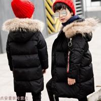 冬季2018新款儿童羽绒服男童中长款中大童童装冬季外套小男孩秋冬新款