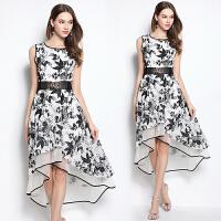 遮肚子连衣裙女夏2017新款蕾丝藏肉端庄大气显瘦夏天气质女装裙子
