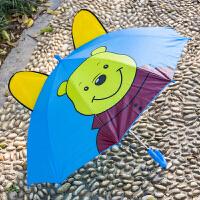 卡通小女孩公主太阳伞儿童迷你小伞玩具幼儿园遮阳伞宝宝雨伞男女 维尼熊 大号