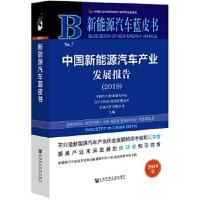 新能源汽车蓝皮书:中国新能源汽车产业发展报告(2019)