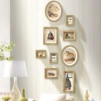 原创设计竖款照片墙组合 挂墙相框相片墙过道转角小墙面