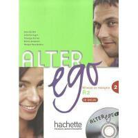 【预订】Alter Ego Level 2 Textbook with CD