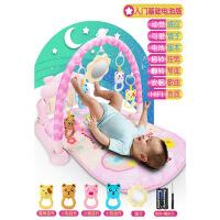 婴儿脚踩钢琴音乐玩具健身架器0-1岁脚踏践踏女宝宝智力男孩女孩