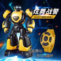 电动玩具3岁男孩炫舞儿童早教手势遥控机器人