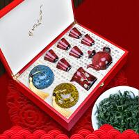 铁观音茶叶礼盒装送茶具套装浓香型春节年货*礼品茶