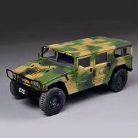 军事拼装模型装甲车吉普车汽车1/35东风猛士军用越野车(需要自己拼装)