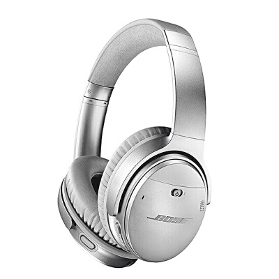 Bose QuietComfort35 无线耳机II-银色 QC35II头戴式蓝牙耳麦 降噪耳机 蓝牙耳机用礼品卡购买BOSE耳机,上当当自营,售后无忧!