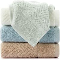 三利 纯棉A类标准简约素雅毛巾 单条装 34×71cm